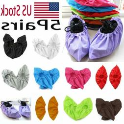 5Pair Household Thick Non-woven Shoe Cover Non-slip Washable
