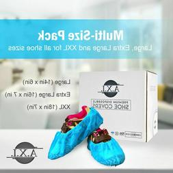 A.X.I. Premium Disposable Shoe & Boot Covers | 300 Pcs of La