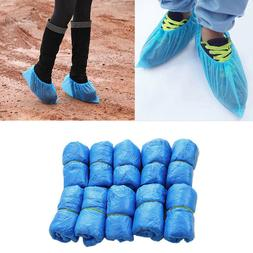 AB_ FT- 100Pcs Disposable Shoe Covers Boots Cover for Workpl
