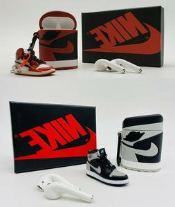 Air Jordan  Airpods Shoe Case Cover Phone Apple Sneaker Keyc