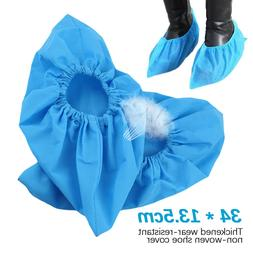 Anti Slip Boot Shoe Covers Non-woven Fabric Washable Elastic