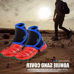AONIJIE Low Trail Gaiters Protective Shoe Covers for Outdoor