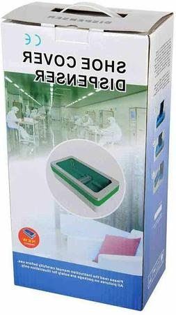 Automatic Shoe Cover Dispenser with 10 shoe covers Green and