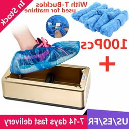 Automatic Shoes Cover Dispenser Household Stepping Disposabl
