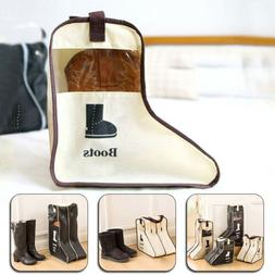 Long Boots Storage Portable Shoe Bag Case Pouch Protector Tr
