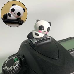 BE_ Cartoon Panda Hot Shoe Covers for Canon Nikon Fujifilm S