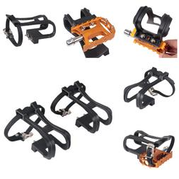 Bicycle Pedal Shoe Harness 1 Pair Cycling Shoes Casing Holde
