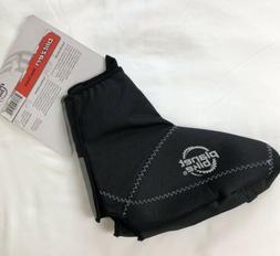 blitzen shoe covers black unisex size l