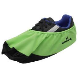 Brunswick Bowling Shoe Covers No Wet Foot Lime Green Lg/XL -