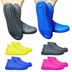 Candy Color Waterproof Silicone Shoe Cover Outdoor Rainproof