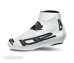 Sidi CHRONO Lycra Aero Cycling Shoe Covers : WHITE/BLACK