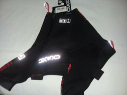 CXWXC Cycling Shoe Covers Size XXL  Red & Black New with tag