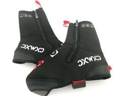 CXWXC Cycling Shoe Covers Neoprene Waterproof, Winter Therma