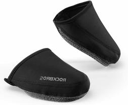 ROCKBROS Cycling Shoe Covers Thermal Shoes Toe Cover Windpro