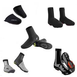 ROCKBROS Cycling Shoe Covers Winter Warm Waterproof Black Pr