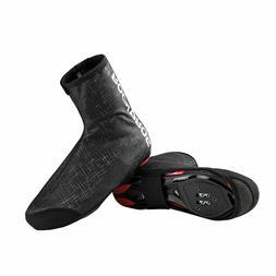 ROCKBROS Cycling Shoe Covers Winter Warm Windproof PU Protec