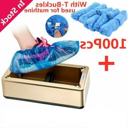 Disposable Automatic Shoe Cover Overshoe Dispenser Machine F