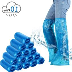 disposable boots covers plastic long shoes covers