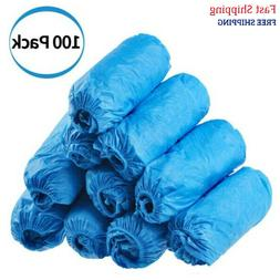Dssiy 100 Pack Disposable Hygienic Shoe & Boot Covers for Me