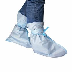Disposable Protective Shoe Covers Three-Layer Blue Great Qua