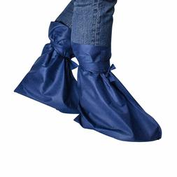 Disposable Protective Shoe Covers Two-Layer Blue Great Quali