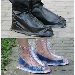 Disposable PVC Anti Slip Shoe Covers Cleaning Overshoes Prot