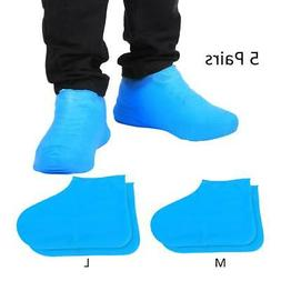 Disposable Rain Shoes Covers Waterproof Dustproof Latex Over