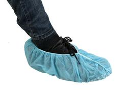 Disposable Shoe Cover Floor Protectors Polyproplene Blue XL