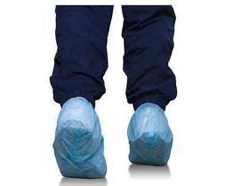 Disposable Shoe Cover, Non Skid Bottom, Blue, 100 pcs/50 pai
