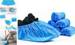 Disposable Shoe Covers,100 Pieces  Disposable Plastic Foot C