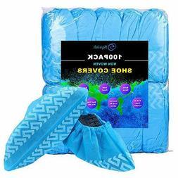 Squish Disposable Shoe Covers 100PCS Non-Slip Boot Protectio