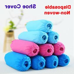 Disposable Fashion Shoe Covers Nonskid Booties Overshoes Cov