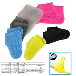 Durable Silicone Overshoes Cover Rain Waterproof Shoe Covers