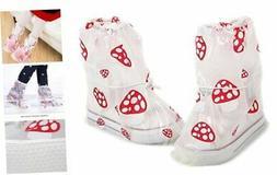 GUIGU Rain Shoes Cover Waterproof Slip-Resistant Cycling 8 S