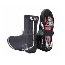 BBB WaterFlex Overshoes PU rubber with inner MicroFleece YKK
