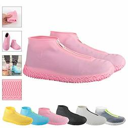 HIGH Reusable Silicone Waterproof Shoe Covers, Silicone Shoe