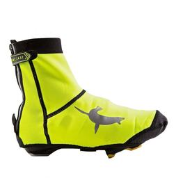 High-Visibility Neoprene Open-Sole Cycling Shoe Covers by Se