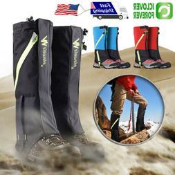 Hiking Walking Gaiters Waterproof Snake High Leg Shoes Cover