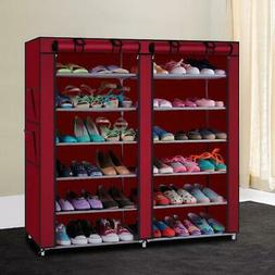 Home Shoe Rack Shelf Storage Closet Organizer Cabinet 6 Tier