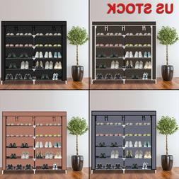 Home Shoe Rack Shelf Storage Closet Organizer Cabinet 6 Laye