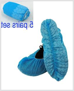 JL 5PAIR DISPOSABLE SHOE COVERS NON-SKID/ MEDICAL/ XL//95019
