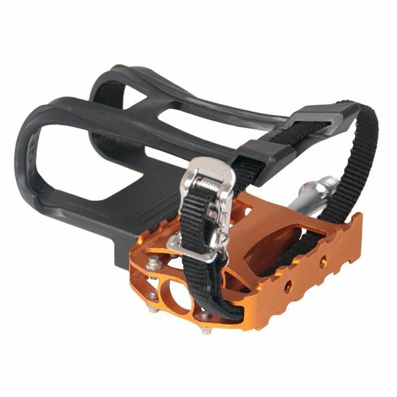 1 pair bicycle pedal shoe harness bike