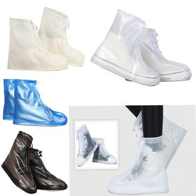 1 pair pvc environmental shoe covers protector