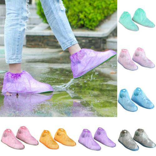 Reusable Rain Shoe PVC Cover Waterproof Protector Shoes Boot