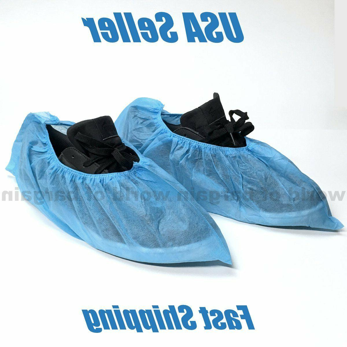 10 pairs disposable shoe covers non woven