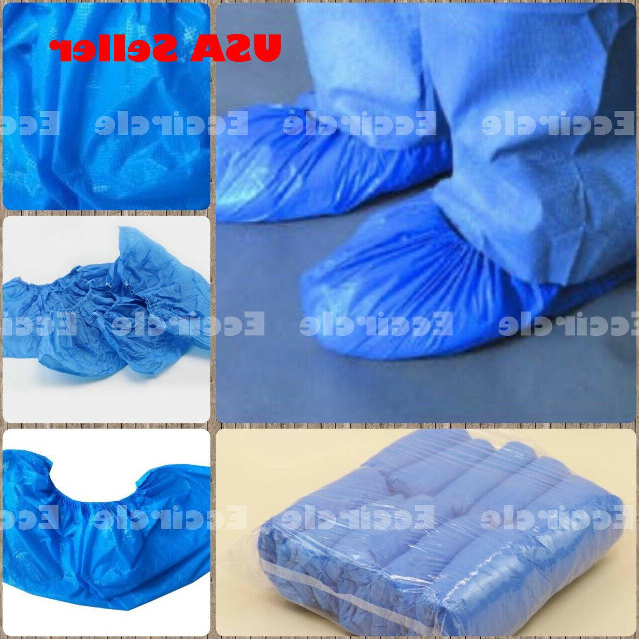 100 1000 x disposable shoe covers waterproof