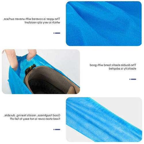 100-200 Disposable Plastic Over Boot Covers