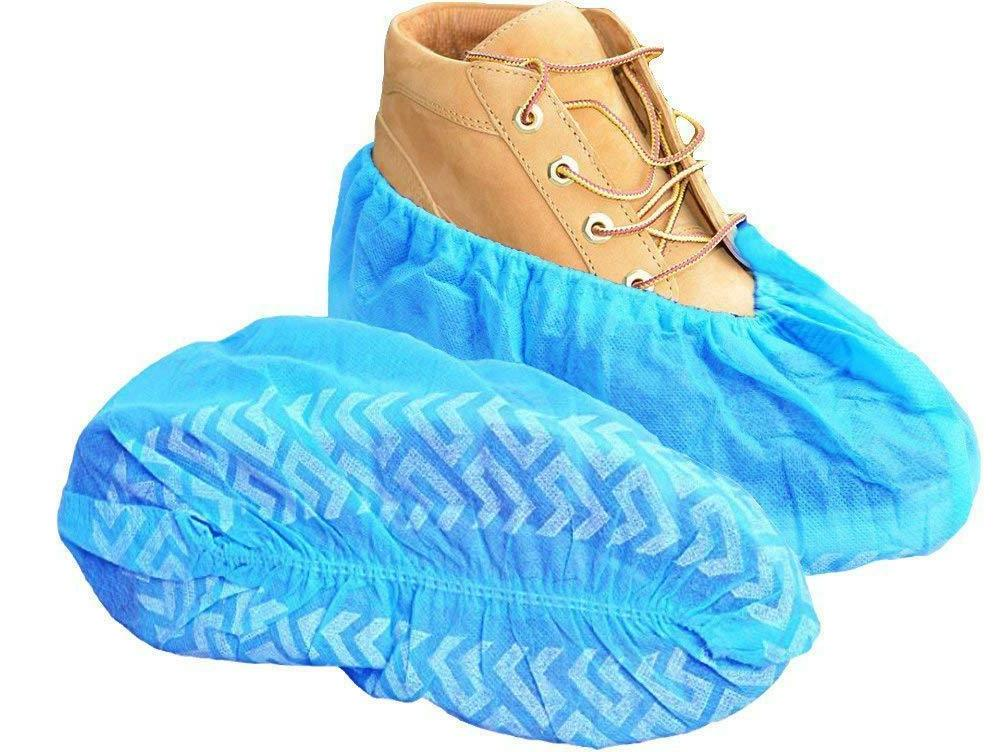 100 pack shoe covers disposable hygienic boot