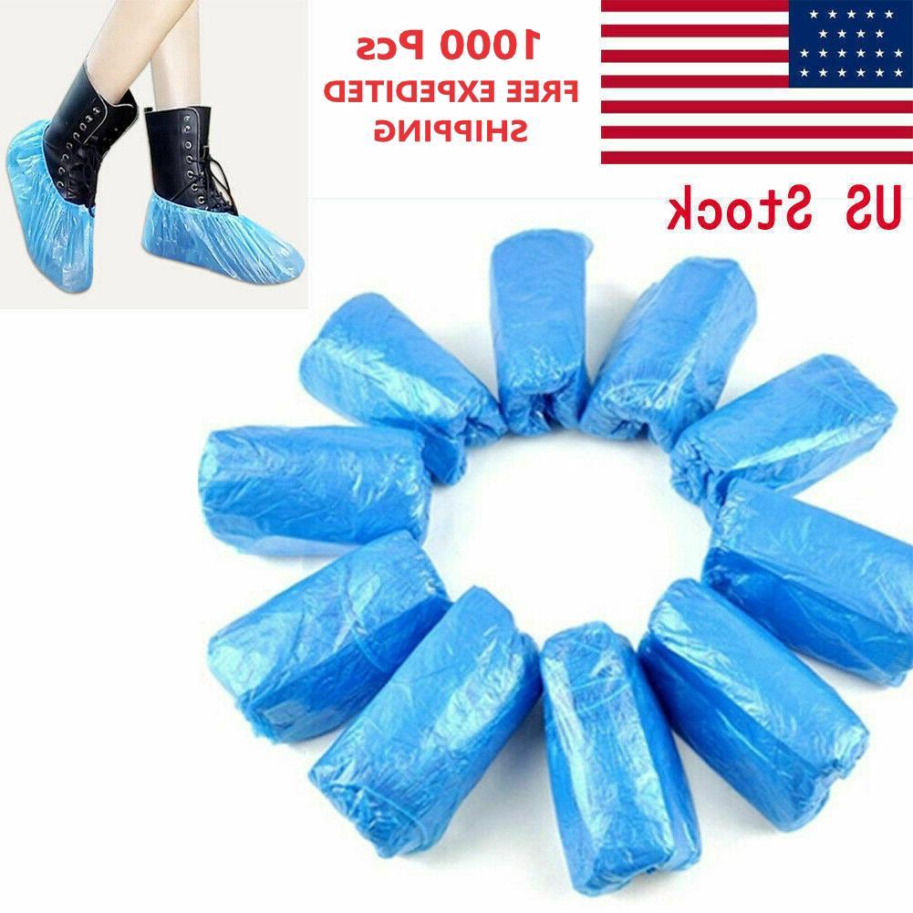 1000 pcs waterproof plastic shoe boot cover