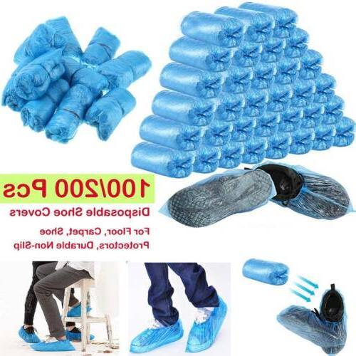 1000pcs medical blue shoe covers non slip